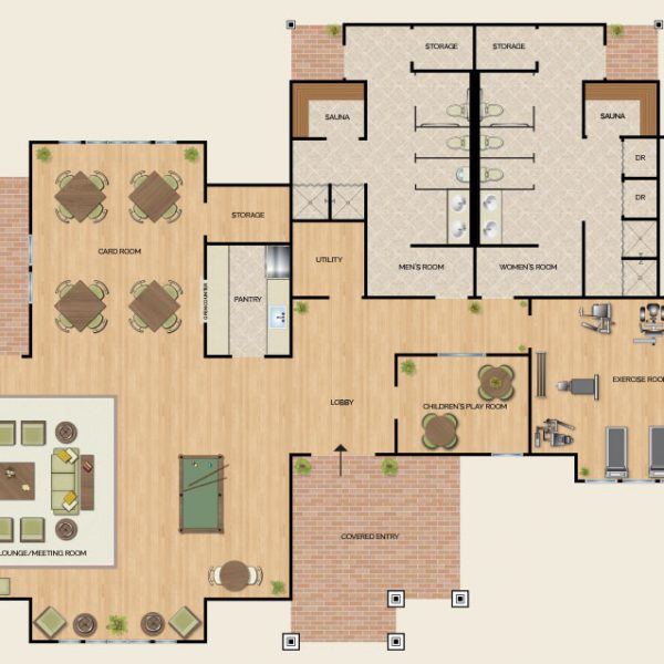 willow wood at overton preserve club floor plan