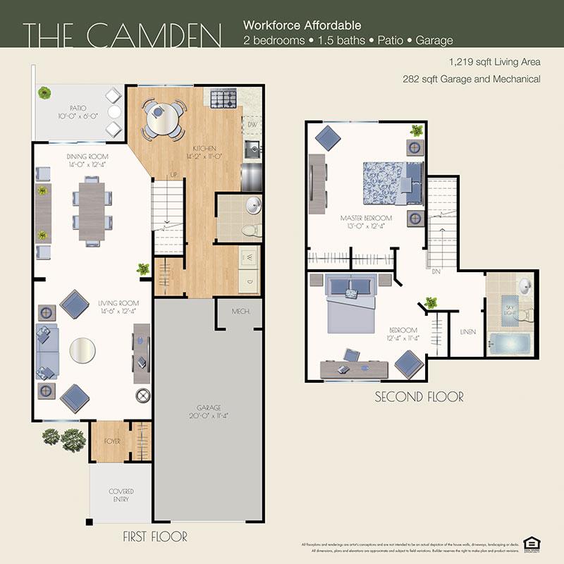 camden floor plan willow wood